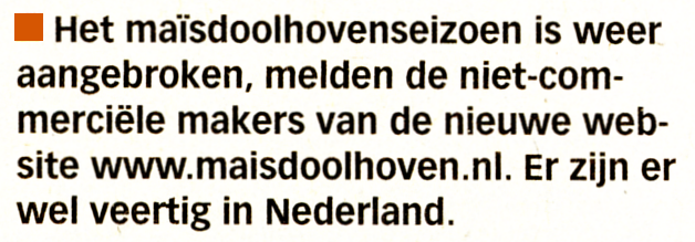 Volkskrant 9-7-2011
